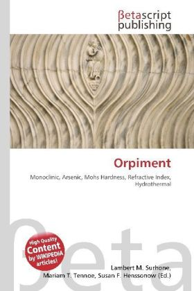 Orpiment | Dodax.at