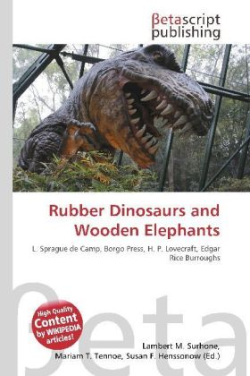 Rubber Dinosaurs and Wooden Elephants | Dodax.at