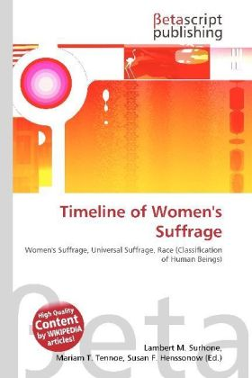 Timeline of Women's Suffrage | Dodax.ch