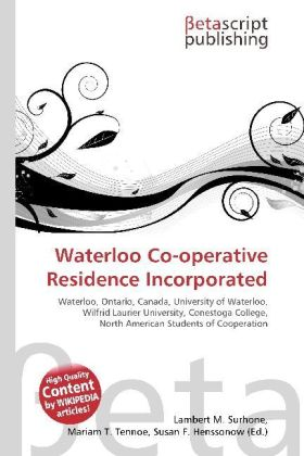 Waterloo Co-operative Residence Incorporated   Dodax.at