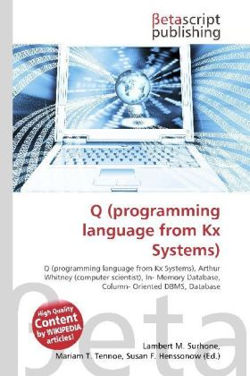 Q (programming language from Kx Systems) | Dodax.ch