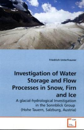 Investigation of Water Storage and Flow Processes in Snow, Firn and Ice | Dodax.pl