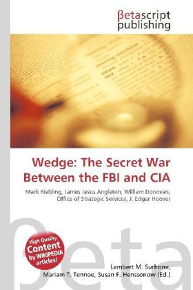 Wedge: The Secret War Between the FBI and CIA | Dodax.at