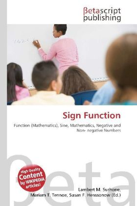 Sign Function | Dodax.ch