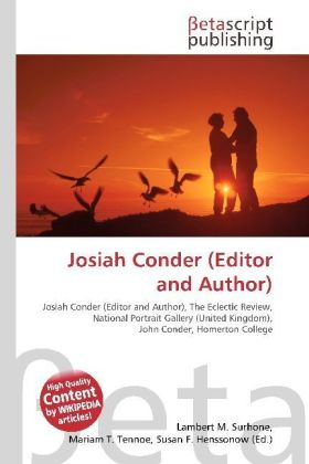 Josiah Conder (Editor and Author) | Dodax.pl