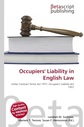 Occupiers' Liability in English Law | Dodax.at