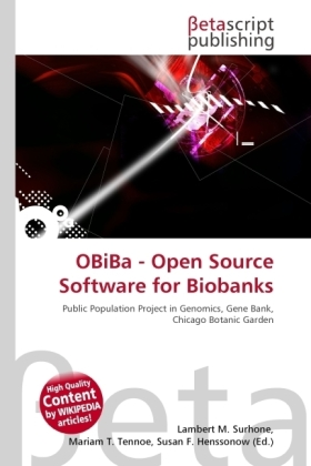 OBiBa - Open Source Software for Biobanks | Dodax.at