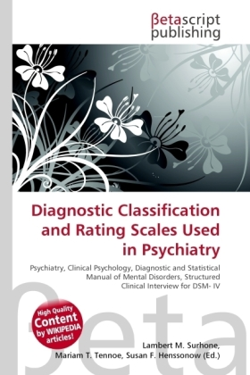 Diagnostic Classification and Rating Scales Used in Psychiatry | Dodax.de