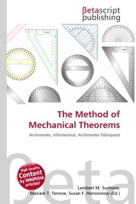 The Method of Mechanical Theorems   Dodax.at