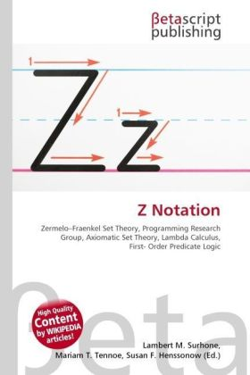 Z Notation | Dodax.at