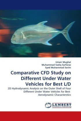 Comparative CFD Study on Different Under Water Vehicles for Best L/D | Dodax.ch
