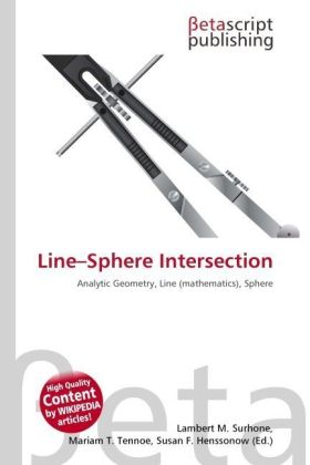 Line Sphere Intersection   Dodax.at