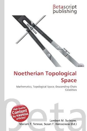 Noetherian Topological Space | Dodax.at