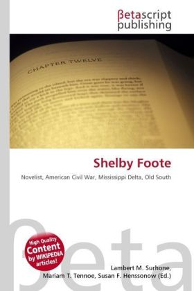 Shelby Foote | Dodax.at