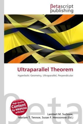 Ultraparallel Theorem | Dodax.de