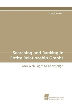 Searching and Ranking in Entity-Relationship Graphs | Dodax.ch