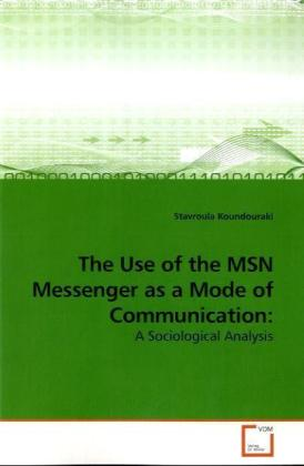 The Use of the MSN Messenger as a Mode of Communication: | Dodax.at