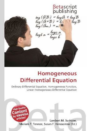 Homogeneous Differential Equation   Dodax.ch