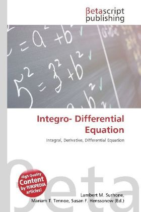 Integro- Differential Equation   Dodax.ch