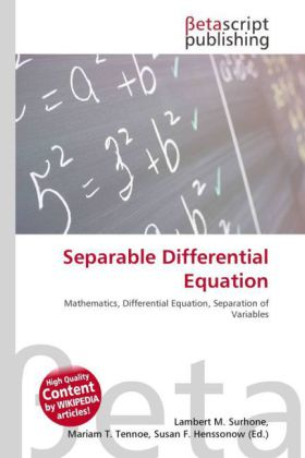 Separable Differential Equation   Dodax.ch