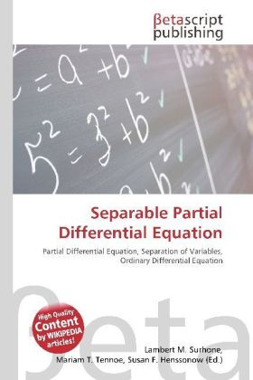 Separable Partial Differential Equation   Dodax.ch