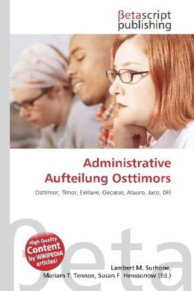 Administrative Aufteilung Osttimors | Dodax.co.uk