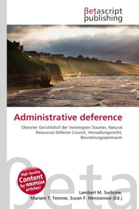 Administrative deference | Dodax.ch