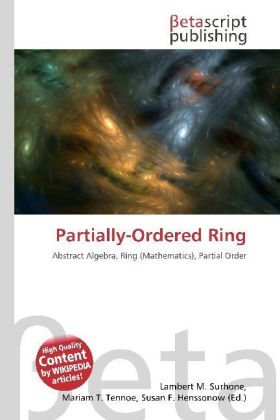 Partially-Ordered Ring | Dodax.ch