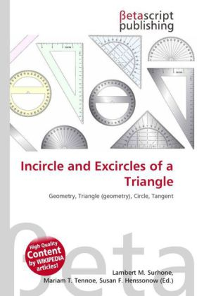 Incircle and Excircles of a Triangle   Dodax.de