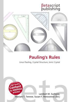 Pauling's Rules | Dodax.ch