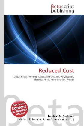 Reduced Cost | Dodax.de