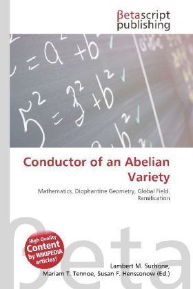 Conductor of an Abelian Variety | Dodax.ch