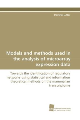 Models and methods used in the analysis of microarray expression data | Dodax.ch