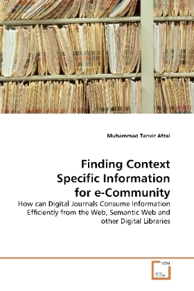Finding Context Specific Information for e-Community | Dodax.ch