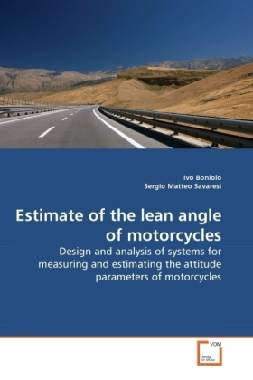 Estimate of the lean angle of motorcycles | Dodax.ch