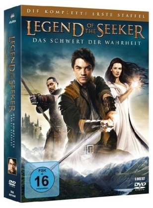 Legend of the Seeker. Staffel.1, 6 DVDs | Dodax.nl