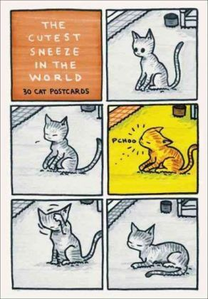 The Cutest Sneeze in the World, 30 Cat Postcards | Dodax.at