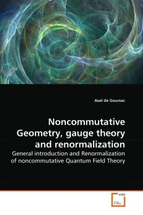 Noncommutative Geometry, gauge theory and renormalization | Dodax.at