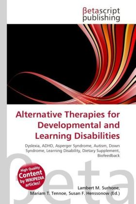 Alternative Therapies for Developmental and Learning Disabilities | Dodax.de