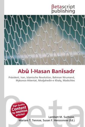 Ab  l-Hasan Ban sadr | Dodax.co.uk