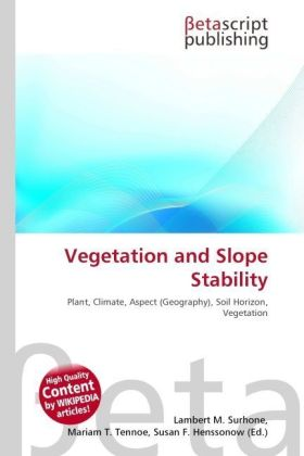 Vegetation and Slope Stability | Dodax.ch