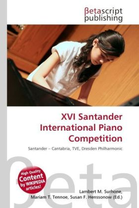 XVI Santander International Piano Competition | Dodax.de