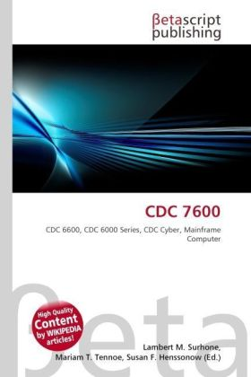 CDC 7600 | Dodax.at