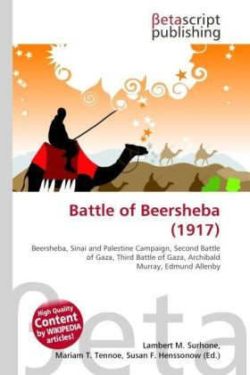 Battle of Beersheba (1917) | Dodax.ch