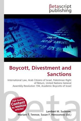 Boycott, Divestment and Sanctions | Dodax.ch