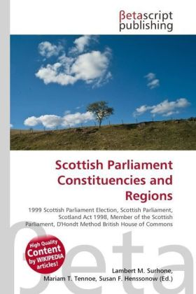 Scottish Parliament Constituencies and Regions | Dodax.de