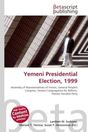 Yemeni Presidential Election, 1999 | Dodax.ch