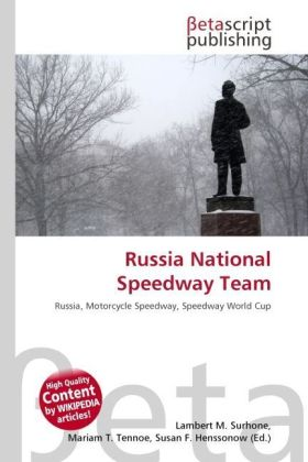 Russia National Speedway Team | Dodax.at