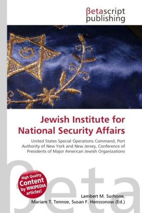 Jewish Institute for National Security Affairs | Dodax.ch