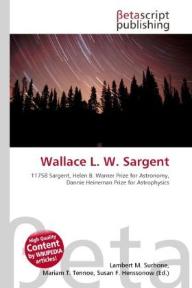Wallace L. W. Sargent | Dodax.ch